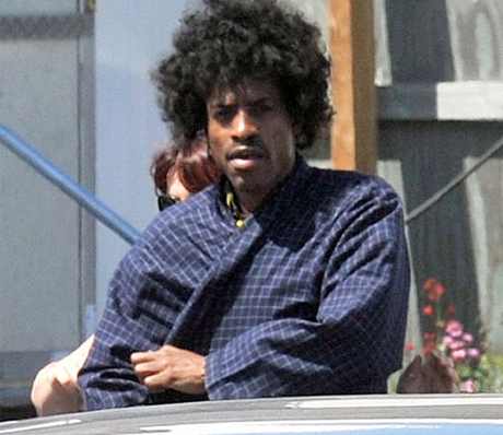 Photos of Andre 3000 as Jimi Hendrix Emerge