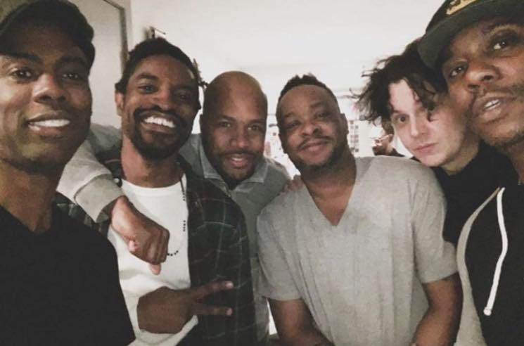 André 3000 Is in the Studio with Chris Rock, Jack White and A Tribe Called Quest's Jarobi White