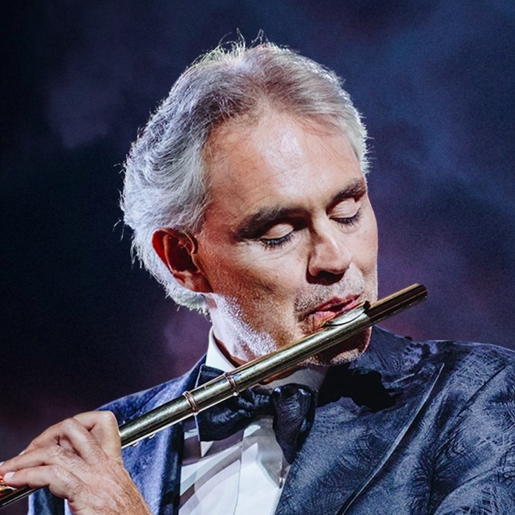 Andrea Bocelli Reveals He Tested Positive for COVID-19