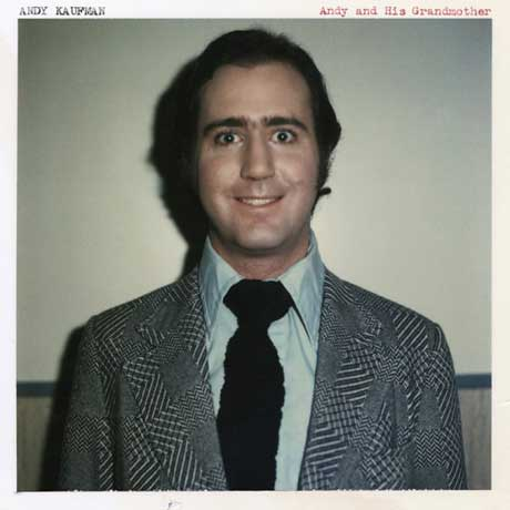 Andy Kaufman Andy and His Grandmother