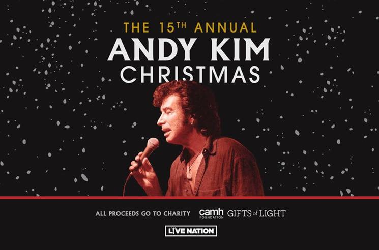 ​Andy Kim Unveils 2019 Christmas Shows with Men Without Hats, Tom Cochrane, Ron Sexsmith