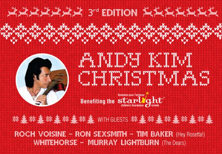 Andy Kim Plans 2016 Christmas Benefit Shows in Toronto and Montreal