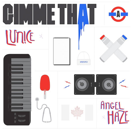 "Angel Haze & Lunice ""Gimme That"""