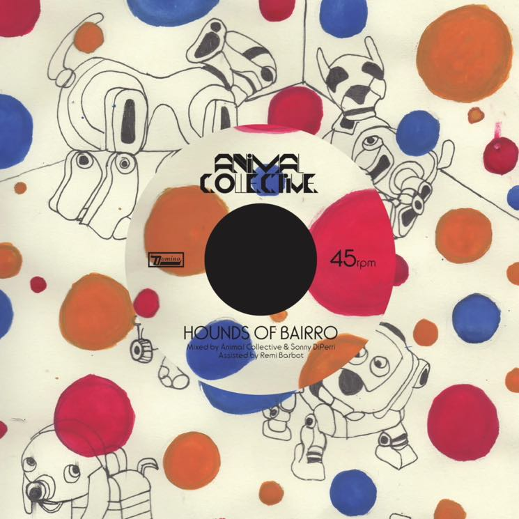 "Animal Collective ""Hounds of Bairro"" / ""Gnip Gnop"""