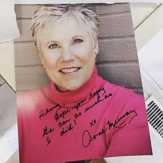 This Toronto Musician Bought Anne Murray's Old Audi and She Gave Him an Autographed Photo