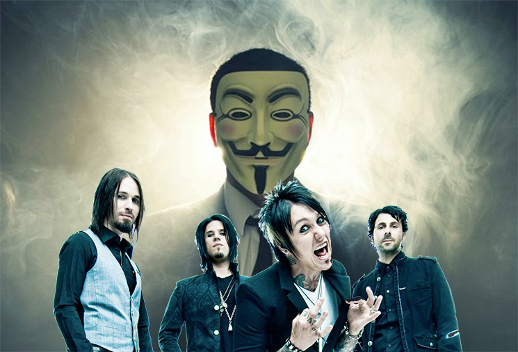 Papa Roach Beg Anonymous to Save Their Facebook from Hackers