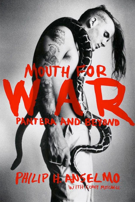 Phil Anselmo's Memoirs 'Mouth for War' Set for 2015 Release