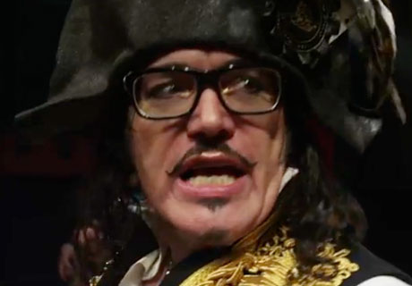 Adam Ant 'Cool Zombie' (video)