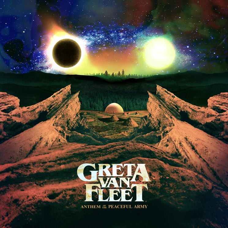 Greta Van Fleet Announce Debut LP 'Anthem of the Peaceful Army'