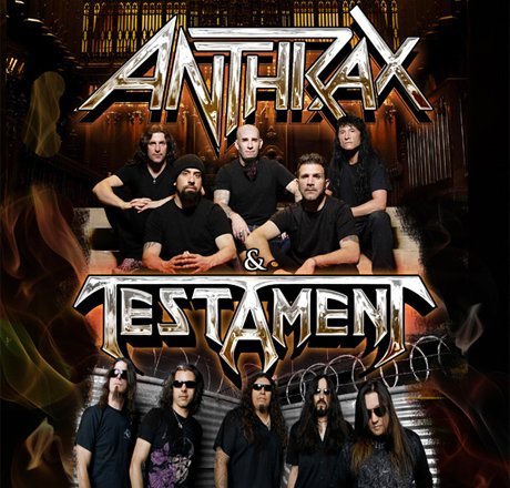 Anthrax, Testament and Death Angel Team Up for Canada-Heavy Tour