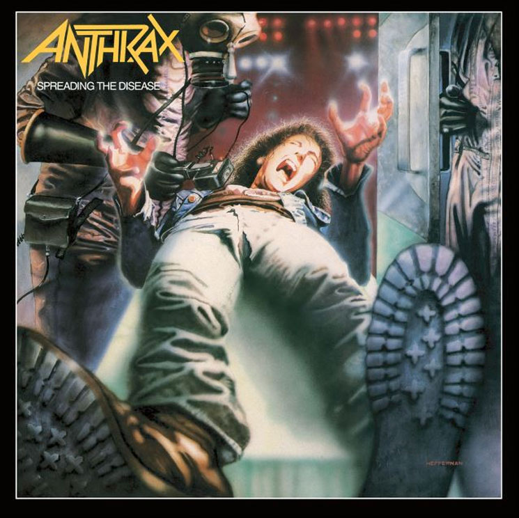 Anthrax Treat 'Spreading the Disease' to Expanded 30th Anniversary Reissue