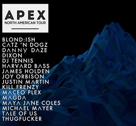 APEX DJ Tour Hits Vancouver, Toronto, Montreal on North American Tour