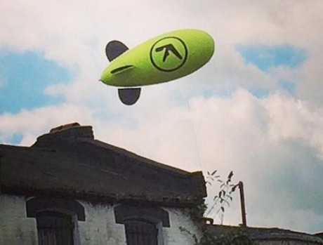 Aphex Twin Hints at Impending Plans with Blimp