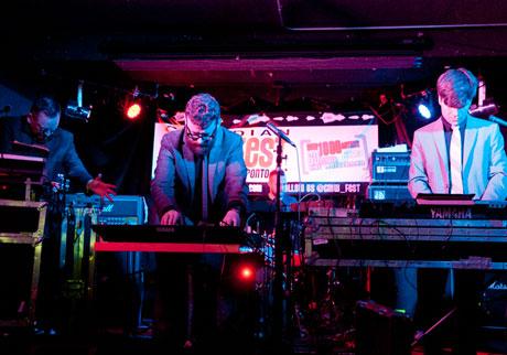 Apparat Organ Quartet The Garrison, Toronto, ON, March 20