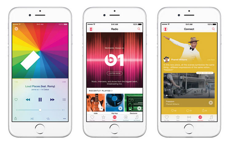 Apple Officially Reveals Its Apple Music Streaming Service