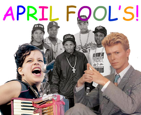April Fool's Jokes from Across the Web