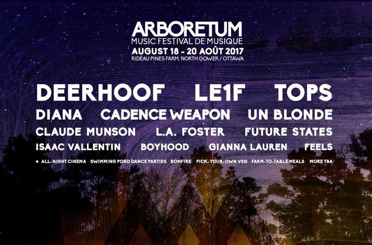 Ottawa's Arboretum Festival Unveils 2017 Lineup