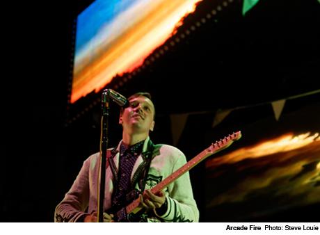 Arcade Fire Place des Festivals of Quartier des Spectacles, Montreal QC September 22