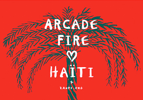 Arcade Fire Matching Holiday Fan Donations for Haiti Charity