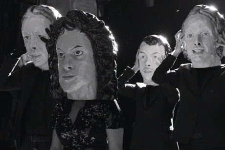 Arcade Fire 'Reflektor' (video) (dir. by Anton Corbijn)