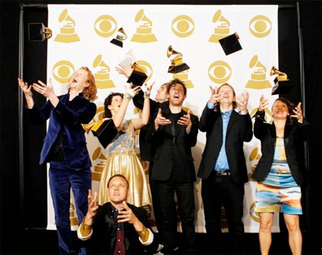 "Arcade Fire's Manager Responds to Steve Stoute's Grammy Conspiracy: ""Arcade Fire Deserved the Win This Year"""