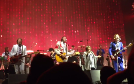 """Arcade Fire """"This May Be the Last Time"""" / """"The Last Time"""" (ft. Mavis Staples) (live video)"""