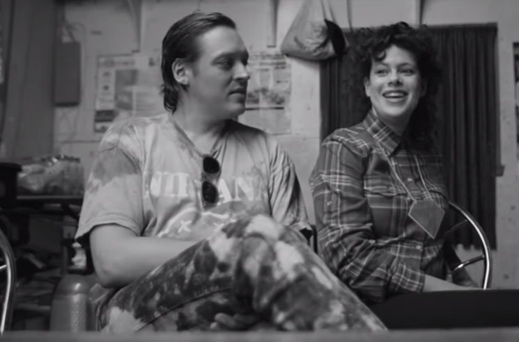 Arcade Fire 'Get Right' ('The Reflektor Tapes' clip)