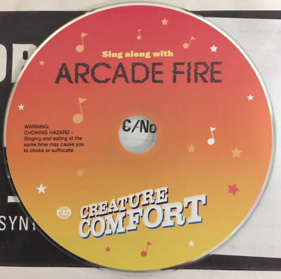 "Arcade Fire's ""Creature Comfort"" Gets Censored for Canadian Radio"
