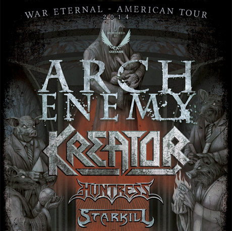 Arch Enemy Bring 'War Eternal' on North American Tour