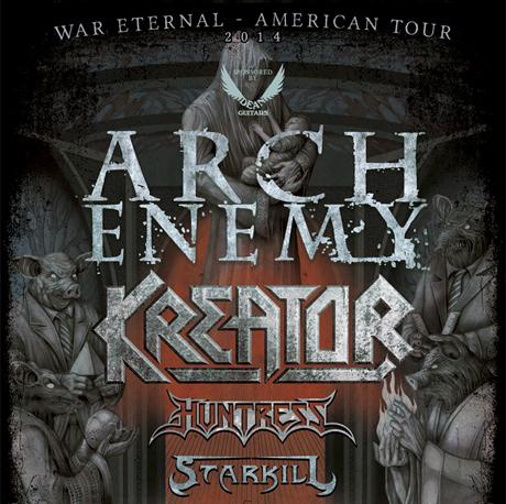 Arch Enemy Bring 'War Eternal' on North American Tour