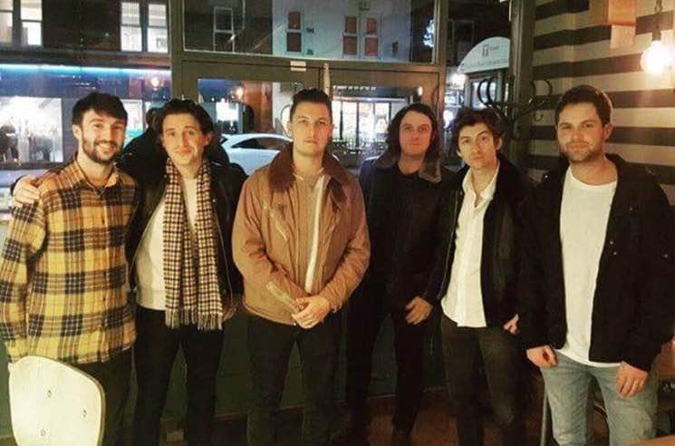 Arctic Monkeys Officially Start Work on New Album