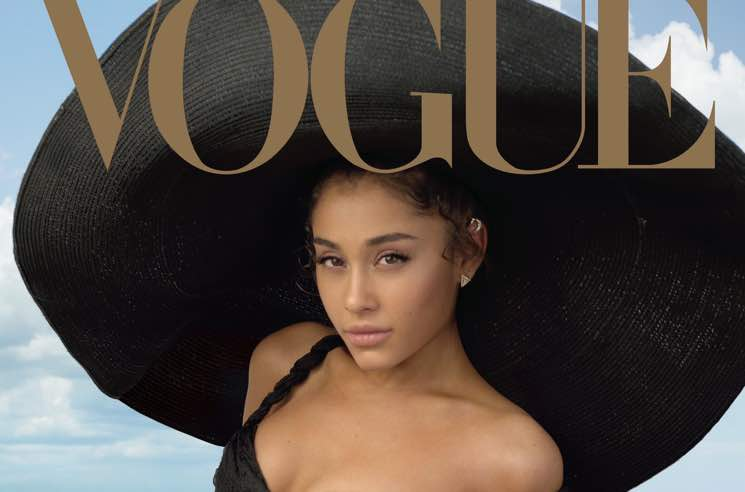 ​Ariana Grande Opens Up About Relationships with Mac Miller and Pete Davidson in 'Vogue' Interview