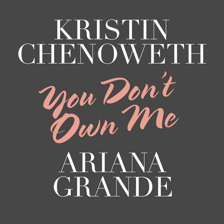 "​Ariana Grande and Kristin Chenoweth Share ""You Don't Own Me"""