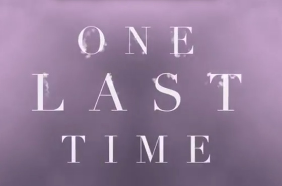 "Ariana Grande ""One Last Time"" (lyric video)"