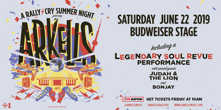 ​Arkells Announce Massive 'A Rally Cry Summer Night' Toronto Show