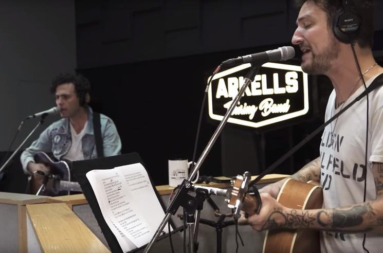"​Arkells Recruit Frank Turner for New Version of ""Hand Me Downs"""