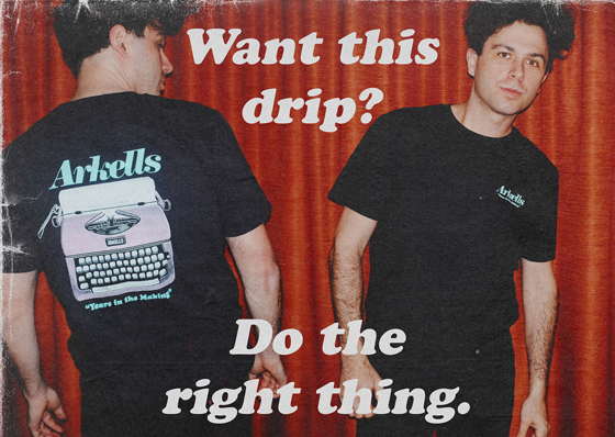 Arkells Are Supporting Journalism with Exclusive Merch