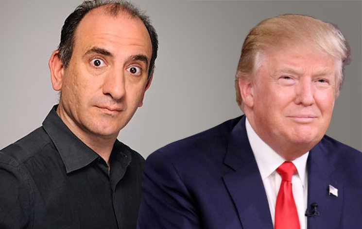 'Veep' Creator Armando Iannucci Might Turn a Viral Trump Tweet into a Movie