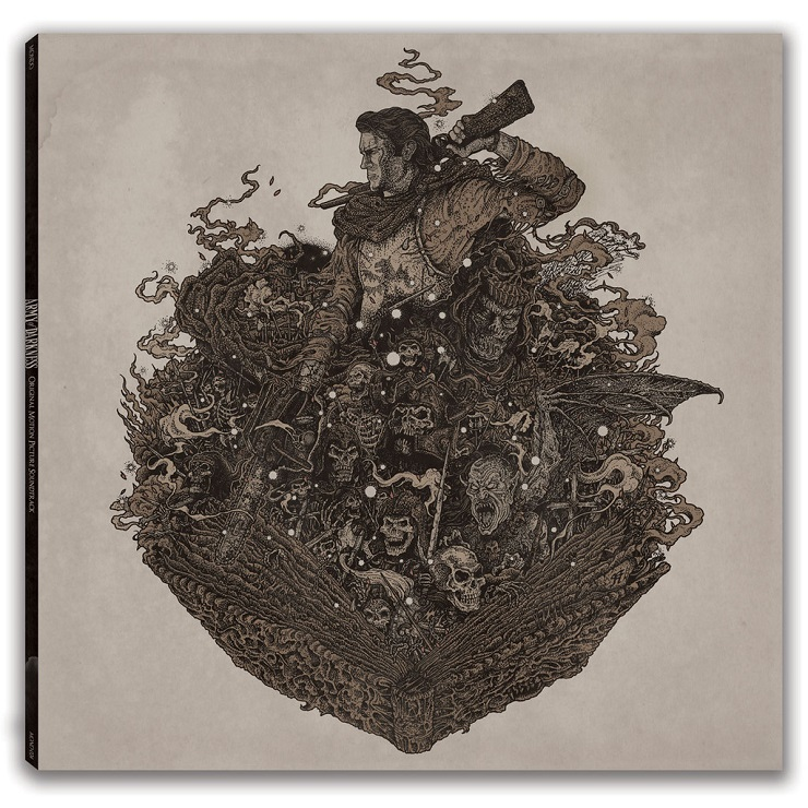 Mondo Dropping 'Army of Darkness' OST Vinyl at MondoCon