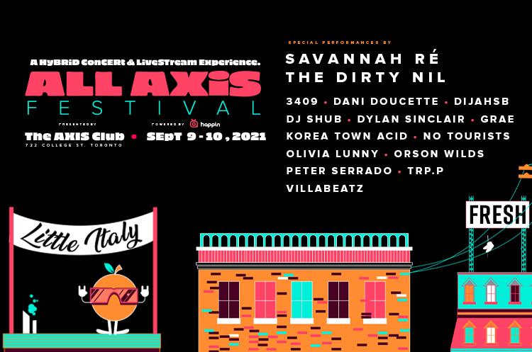Toronto's Axis Club Gets Savannah Ré, the Dirty Nil, DijahSB for All Axis Festival