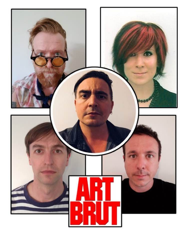 "​Art Brut Tease New Album with ""Wham! Bang! Pow! Let's Rock Out!"""