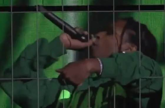 ​A$AP Rocky Returns to Sweden, Performs in a Cage
