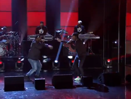 "A$AP Ferg ""Shabba"" (ft. A$AP Rocky) (live on 'Arsenio')"