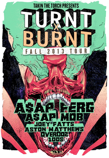 "A$AP Ferg Rolls Out ""Turnt x Burnt"" North American Tour Details with A$AP Mob"