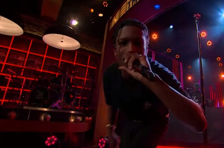 "A$AP Rocky ""Everyday"" / ""Pharsyde"" (live on 'Corden')"