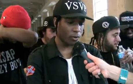 Nardwuar the Human Serviette vs. A$AP Rocky