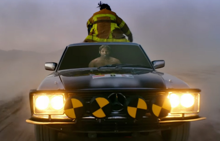 "Watch A$AP Rocky Be a Total Stuntman in His ""Gunz N Butter"" Video with Juicy J"
