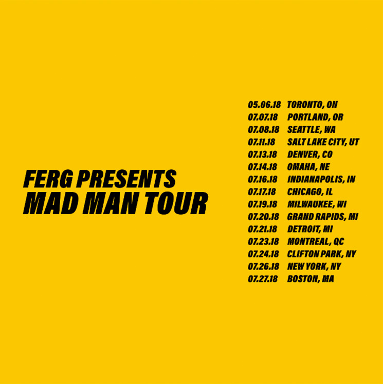 "A$AP Ferg Suddenly Postpones His ""Mad Man Tour"""