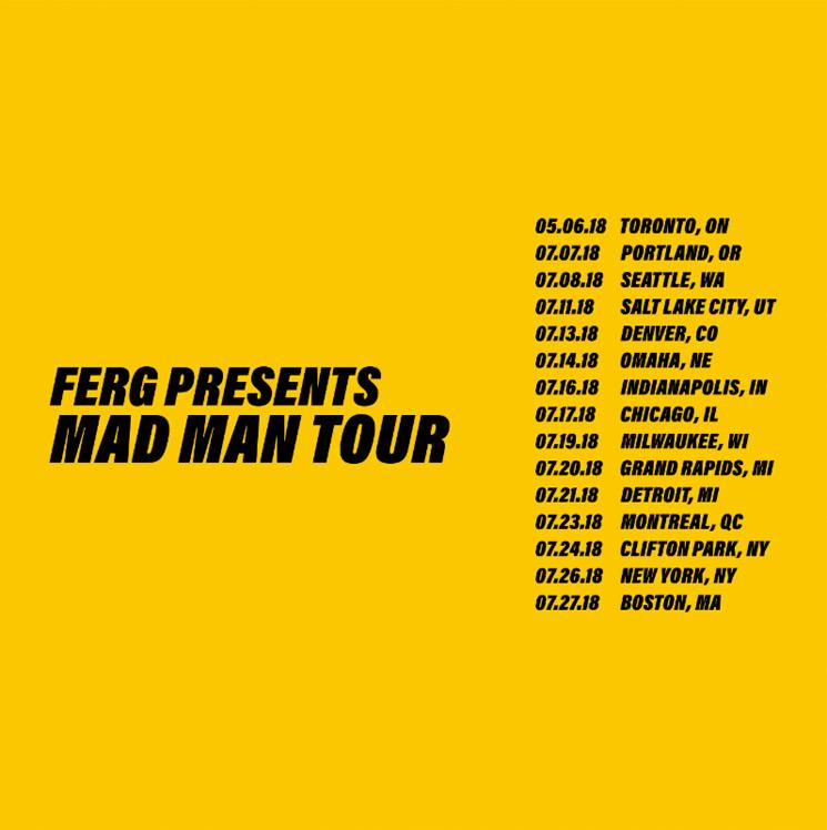 A$AP Ferg Suddenly Postpones His 'Mad Man Tour'