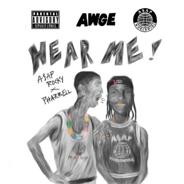 "A$AP Rocky ""Hear Me"" (ft. Pharrell Williams) / ""JD"" (video)"